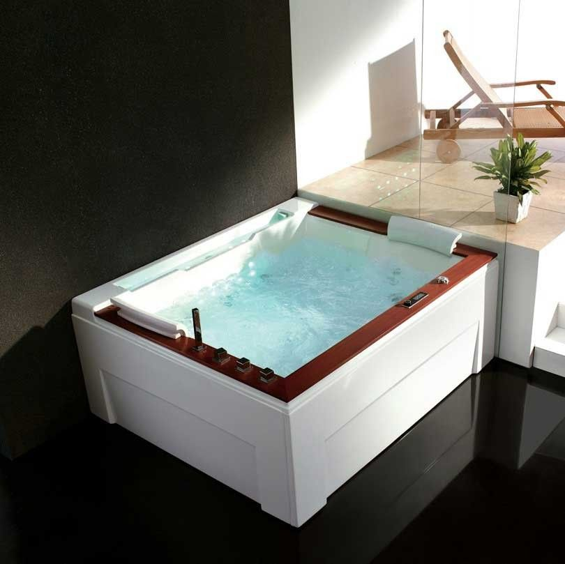 Venice Luxury Whirlpool Tub | Bathroom | Pinterest | Tubs, Luxury ...