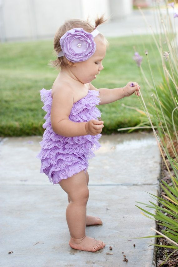 Keloids Scar Petti Romper Headbands Baby Kids Clothes
