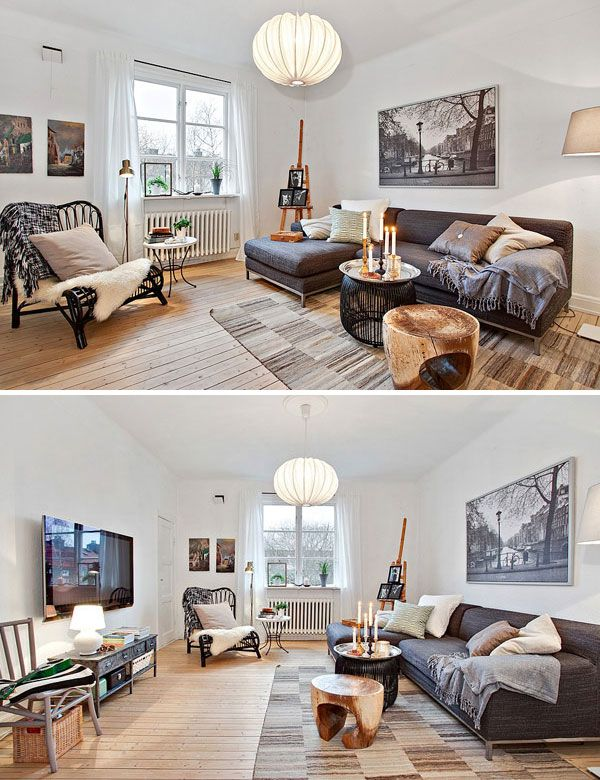 Beautiful and bright scandinavian home in the swedish town of göteborg the place has gorgeous minimalist scandinavian decor with lovely ethnic chic vibes