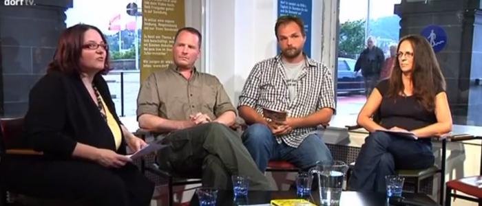 Livesendung auf DORF TV   Sozialwort 2.0 im Rahmen der Langen Nacht der Kirchen