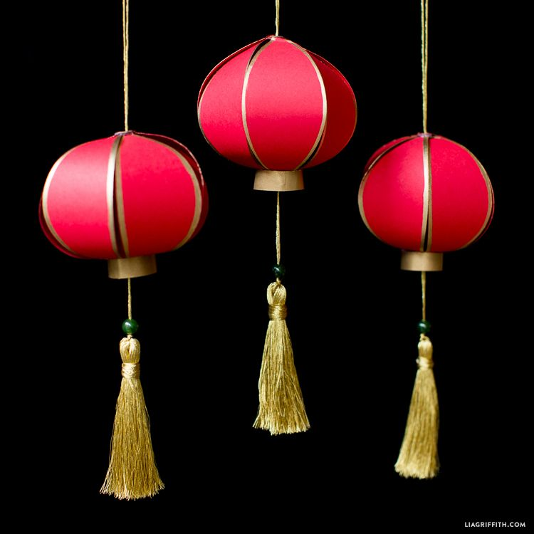 DIY Chinese New Year Paper Lantern | Chinese paper ...