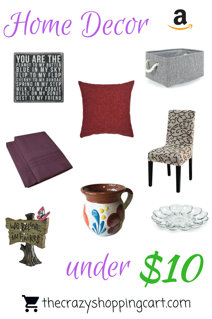 Decorate Your Home For Less Than $10! | The Crazy Shopping Cart