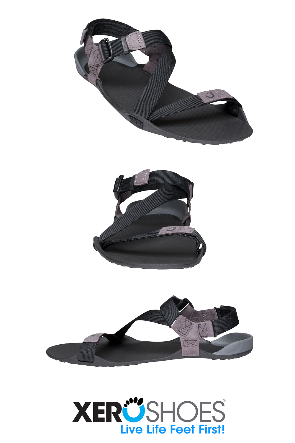 Lightweight men's running and hiking sandals! Easy to pack take them when you travel roll them into...