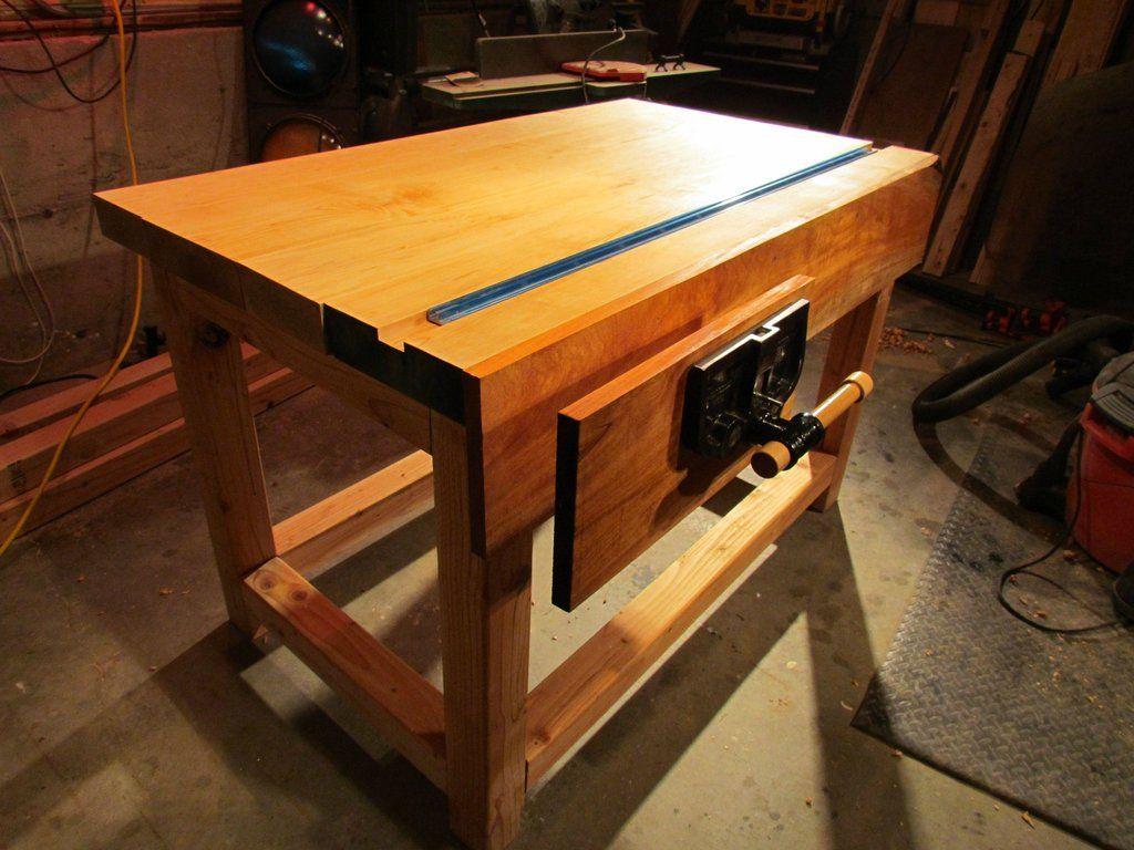 New Workbench Woodworking Drafting Desk Woodworking Desk