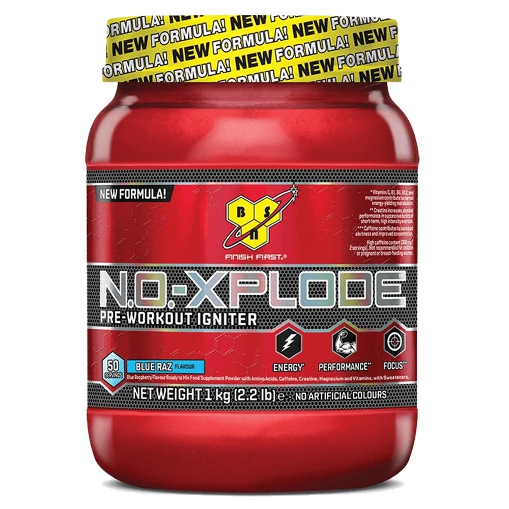 BSN NO Xplode 3.0 1kg Pre workout supplement, Pre