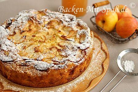 Juedischer Apfelkuchen