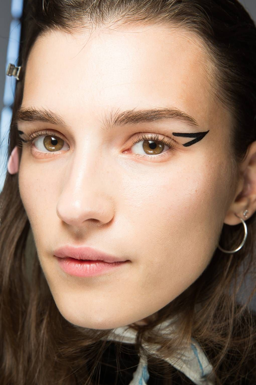 Spring/Summer 2019 Backstage Beauty With Makeup looks