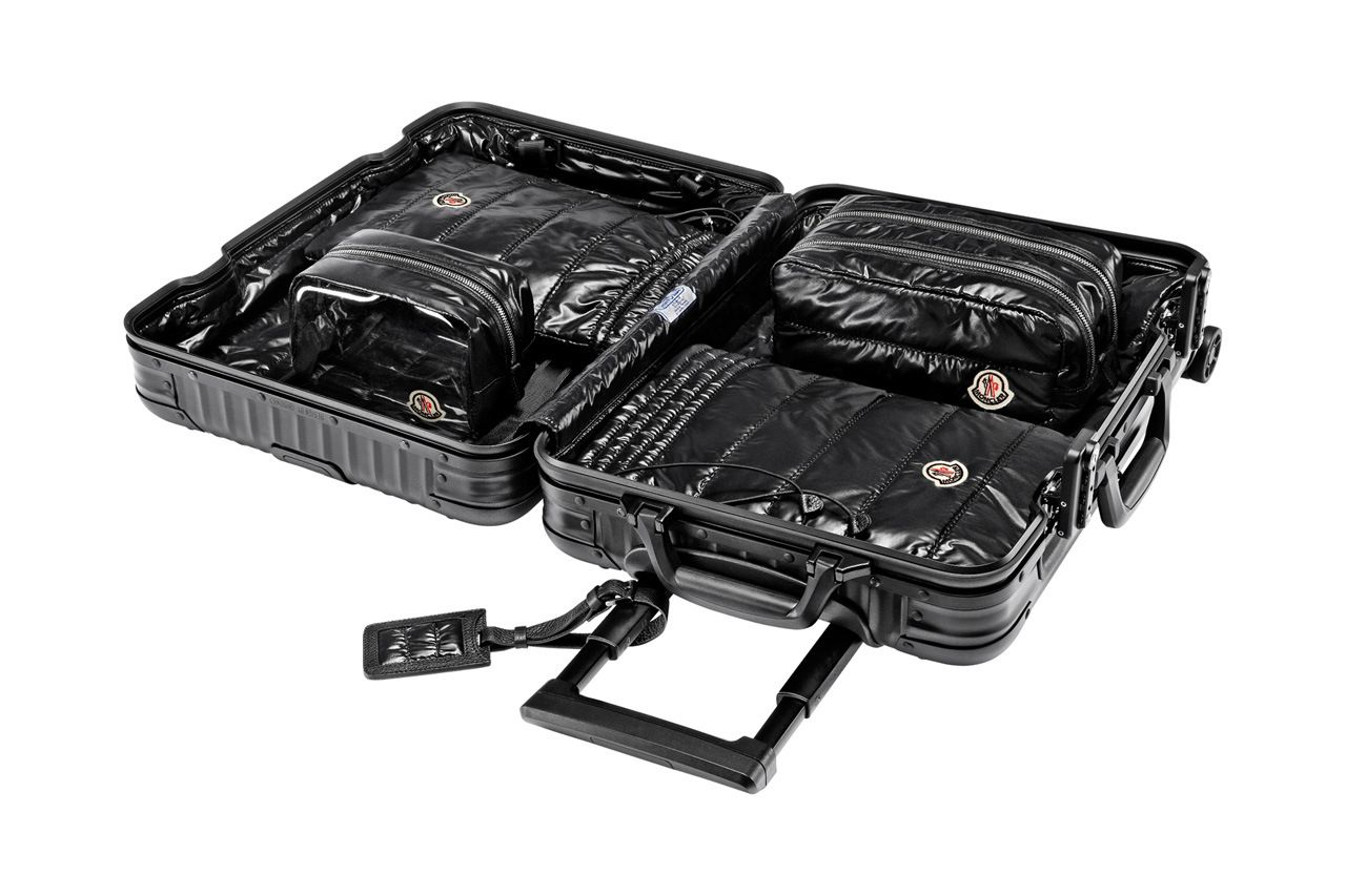 RIMOWA & Moncler - The Suitcase with A Heart of Down