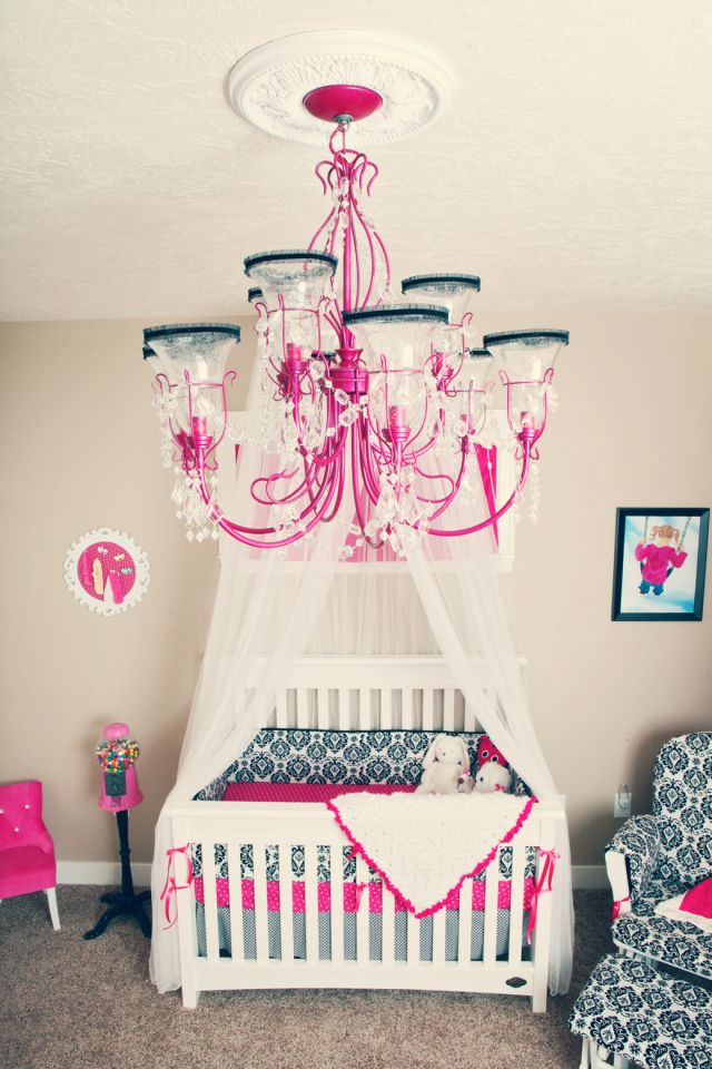 Baby Girl Room Ideas For The House Pinterest Room Babies And Delectable Baby Girl Room Chandelier