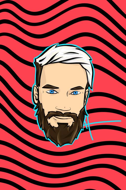 PewDiePie by u/poorkidz on Reddit Pewdiepie fan art