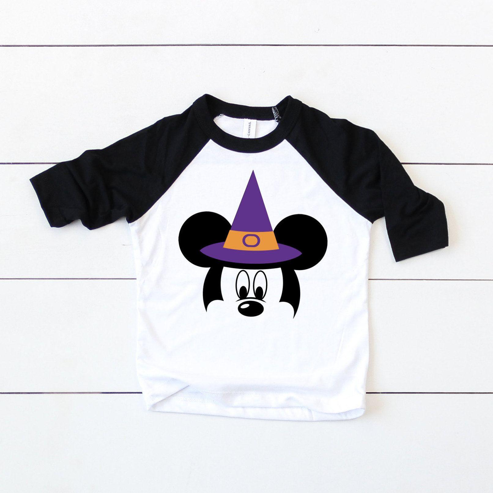 Mickey With Hat Shirt, Mickey Halloween Shirt
