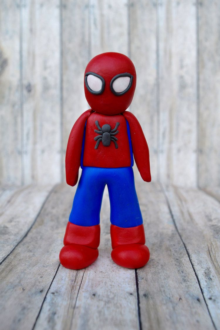 Spiderman ornament Spiderman cake topper for by