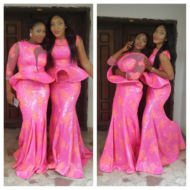 Top Ten Gorgeous Aso Ebi Styles You Should Rock To