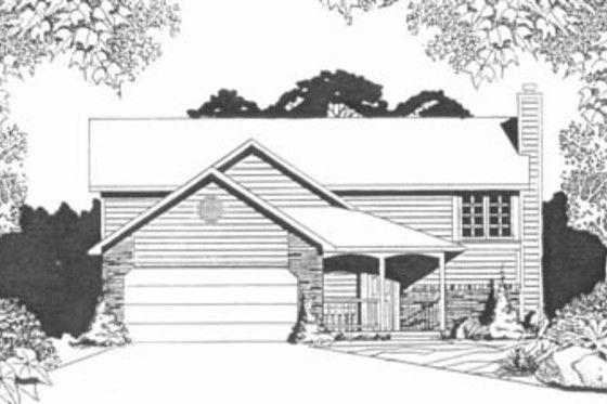 Traditional Style House Plan - 2 Beds 2 Baths 1000 Sq/Ft ...