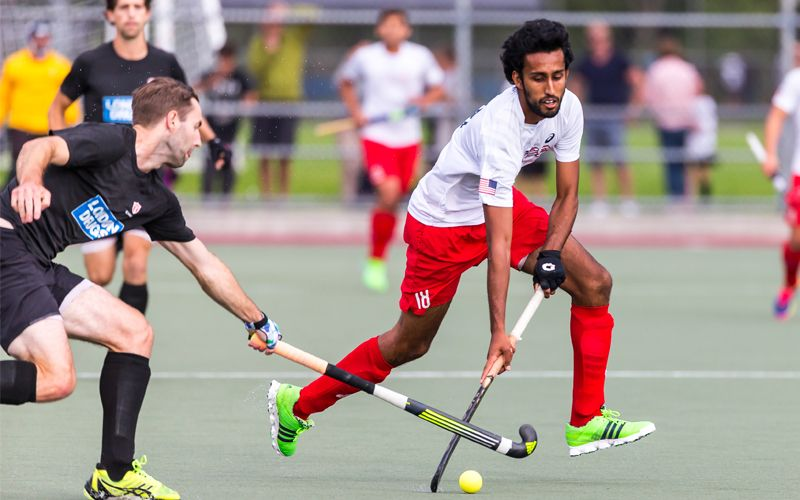 In A Disciplined And Controlled Performance From The U S Men S National Team In Their Second Game Of Hockey World League Round 1 In Hockey World Usmnt League