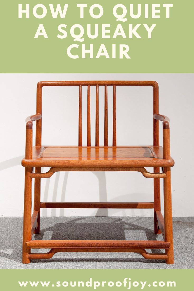How to Quiet a Squeaky Office Chair or Wooden Chair  Wooden chair