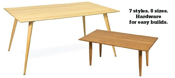 MidCentury Modern TableLegscom FURNITURE ReMade Fabulous Parts