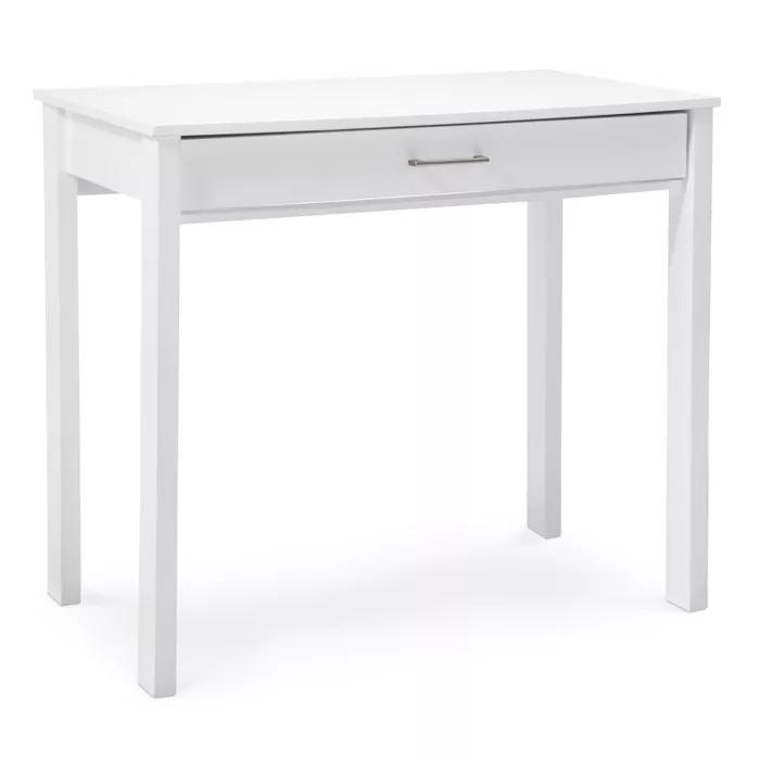 Anywhere Desk White In 2020 White Desks Desk With Drawers White Computer Desk