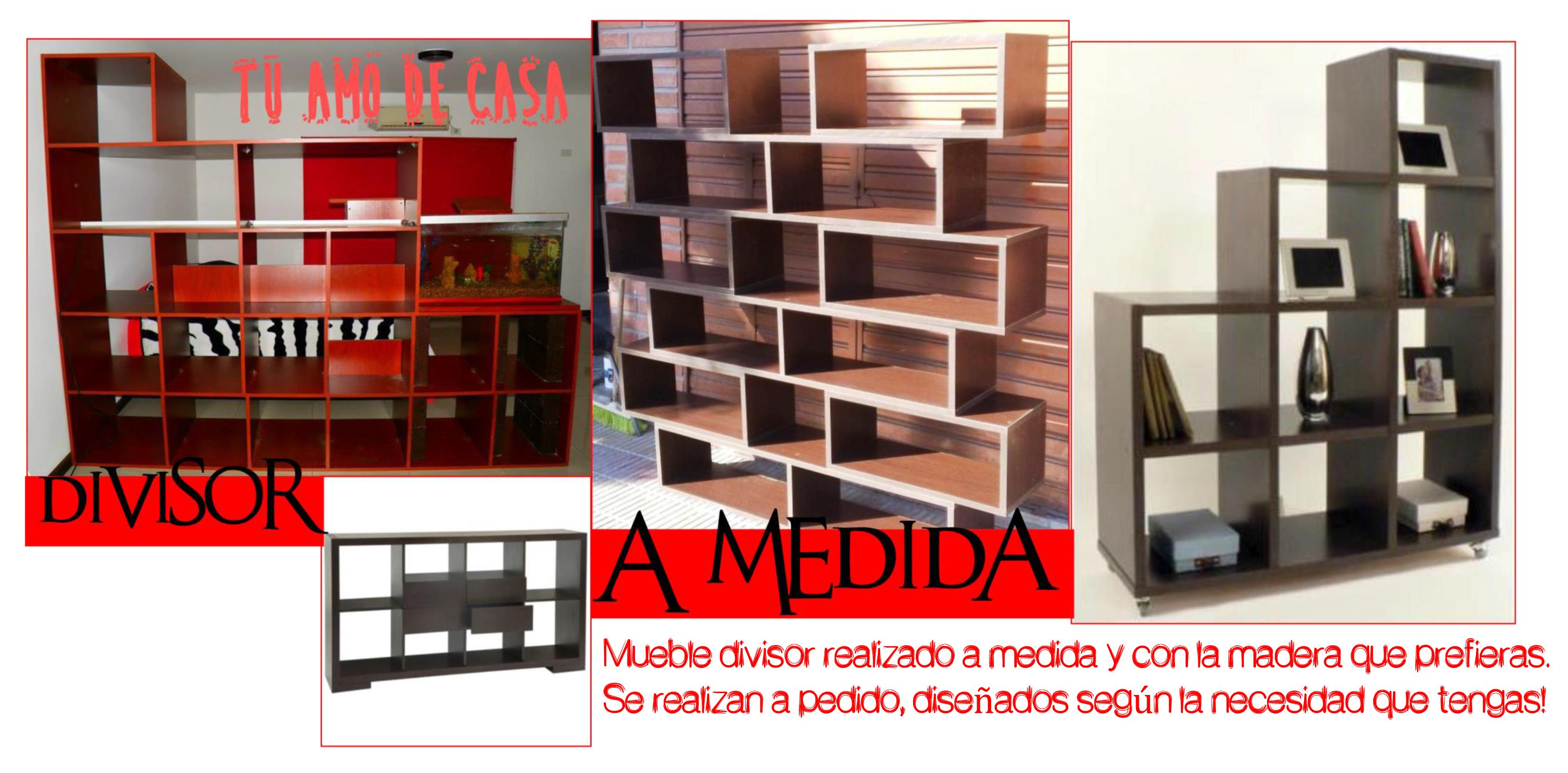 Apedido Realizaci N De Muebles Divisores En Madera Color Y Tama O  # Ruffino Muebles & Deco San Telmo
