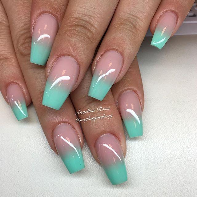 Coffin nails @KortenStEiN | NAILS | Pinterest | Arte de uñas ...