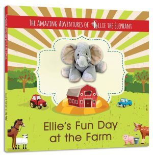 The Amazing Adventures of Ellie The Elephant - Ellie's Fun Day at the Farm. Written by Marci Fair and also by Elle Fair and illustrated by Cornelia Murariu. Pacochel Press, LLC; Juvenile Books (Level 1 - Ages 5 to 8)