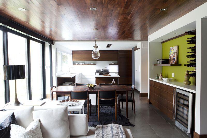 Contemporary Dining Room Cabinets Amazing Contemporary Dining Roomcapoferro Design Build Group Design Decoration