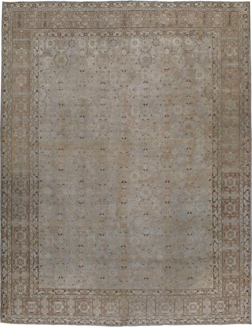 Antique Tabriz Carpet, No.8260 - Galerie Shabab