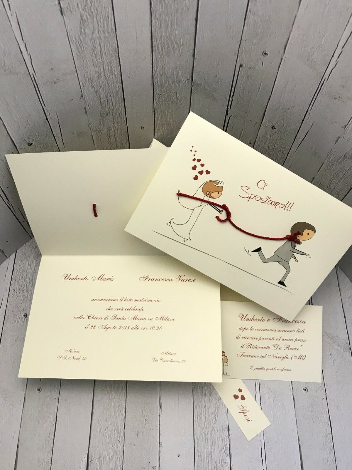 Partecipazioni Matrimonio Varese.Partecipazioni Nozze Inviti Wedding Buonanno New Comics C013