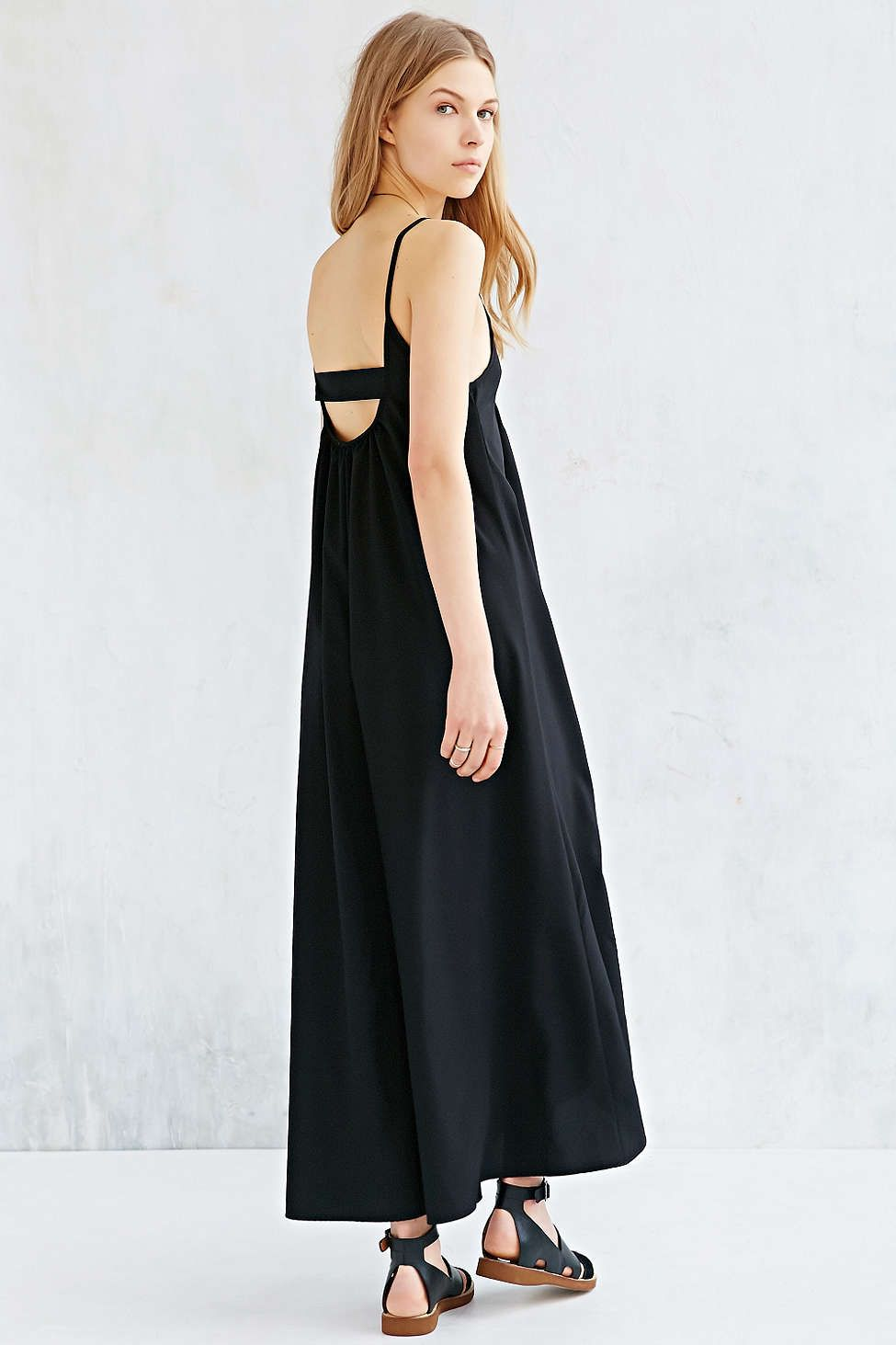ab1dd66f0f9 Silence + Noise Open-Back Maxi Dress - Urban Outfitters