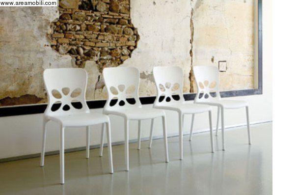 Sedie ripiegabili ~ Sedia pieghevole neon bianca sedie moderne pinterest see