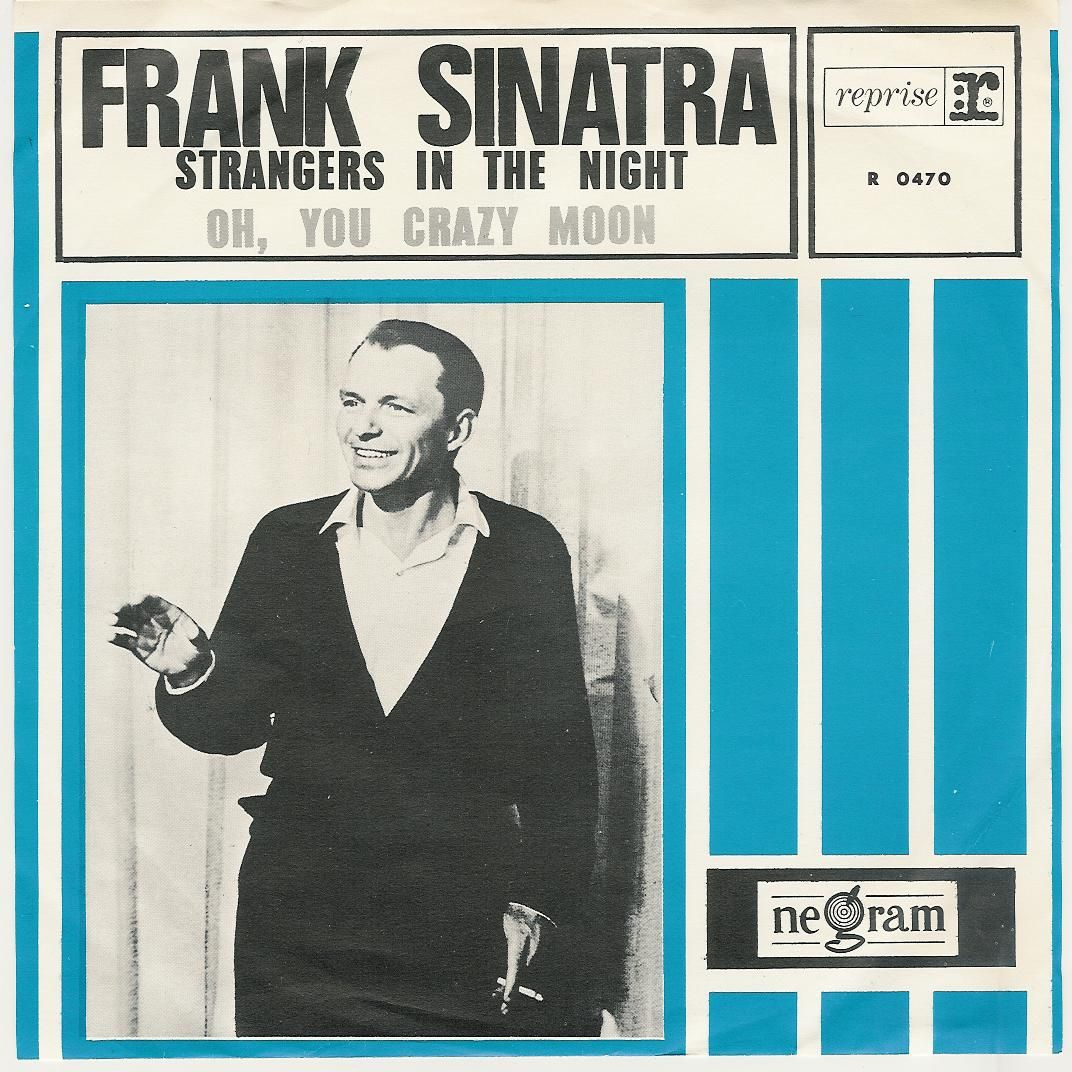 "1966, Frank Sinatra | On June 11 1966, Frank Sinatra was on top of the record charts with ""Strangers in the Night"" and this announcement appeared in Melody Maker about Cream:"