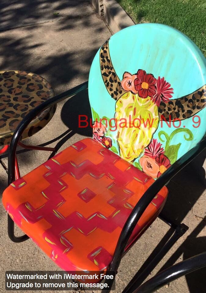 Pin de Laura Madden en outdoor metal chair makeover | Pinterest ...