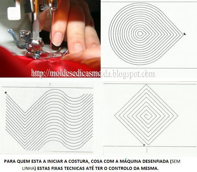 Fichas técnicas de costura para imprimir   ✂-- Patterns Of Women\'s ...