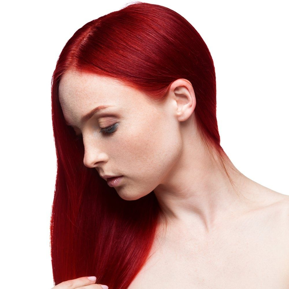 Bright Scarlet Hair Fudge Paintbox Semi Permanent Hair Dye Cherry