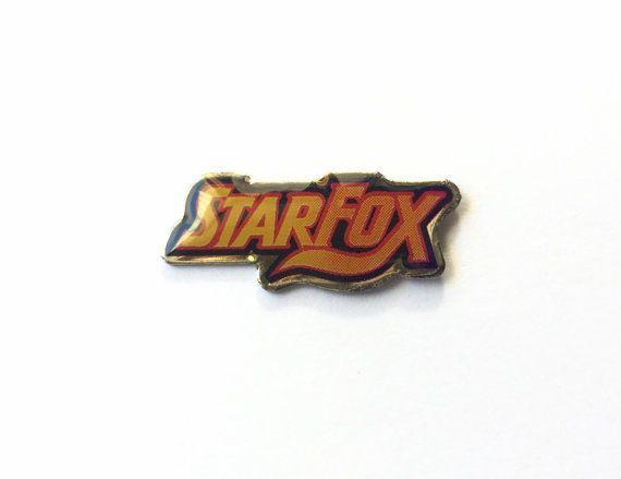 1993 STAR FOX Competition Pin Super Nintendo by RetroPixelsAndToys