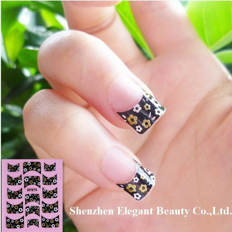New French Manicure Designs | New Cute French Nail Designs from Joy ...