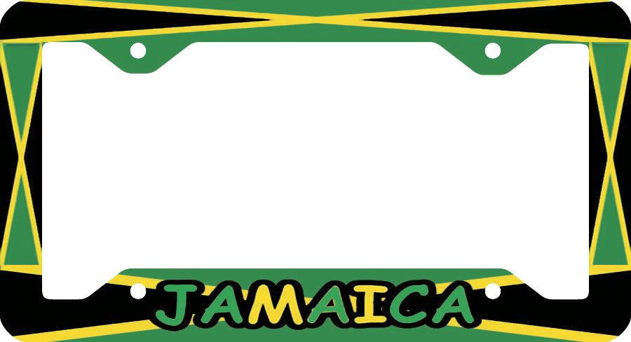 Jamaica License Plate Frame Land Of By Birth Projects To