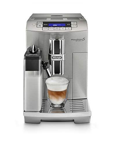 DeLonghi America ECAM28465M Prima Donna Fully Automatic Espresso Machine with Lattecrema System