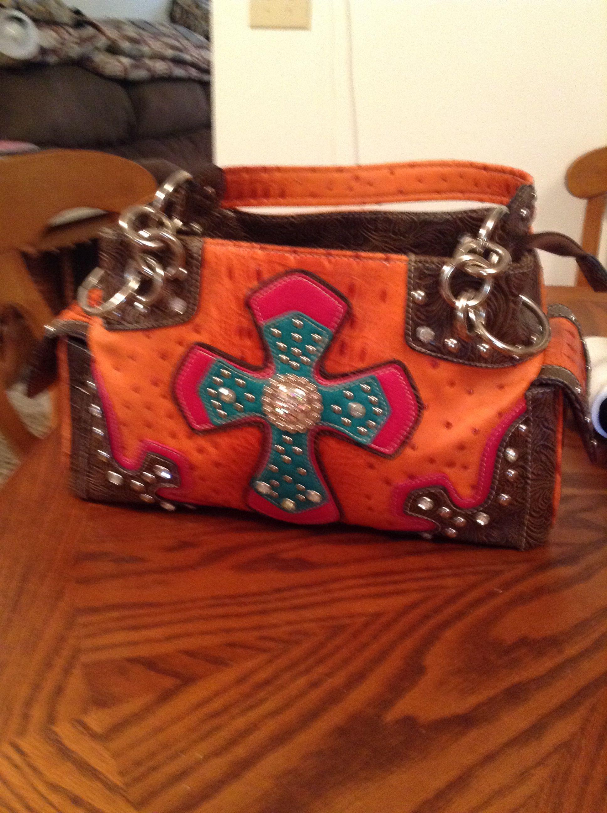 Western style purse.