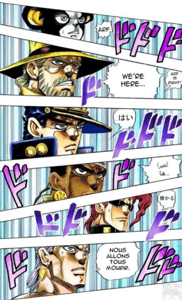 If Everyone Spoke Their Native Language Jojo S Bizarre Adventure Jojo Bizarre Jojo S Bizarre Adventure Jojo Anime