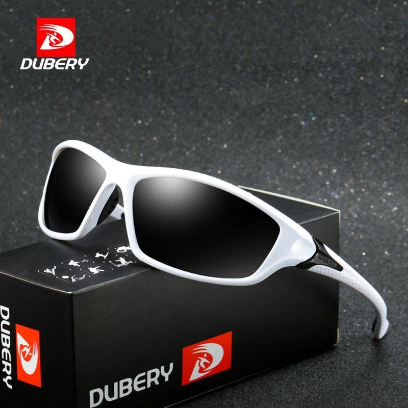 DUBERY Men/'s Polarized Sunglasses Outdoor Driving Unisex Sports Eyewear Glasses
