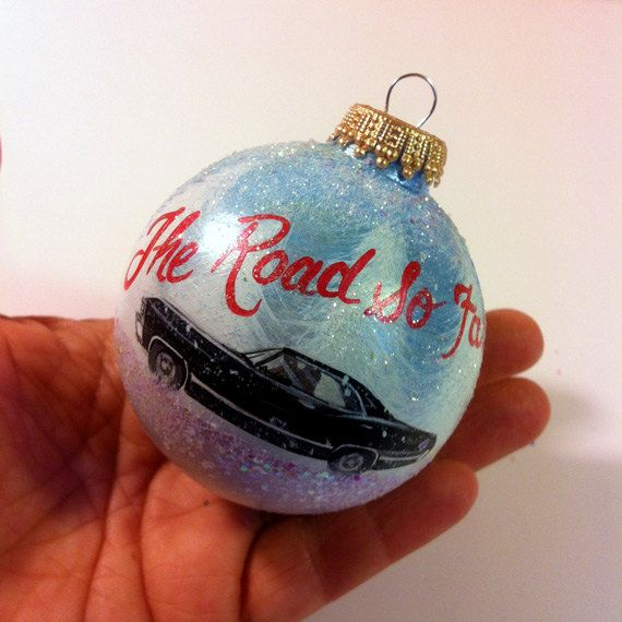 67 Impala Hand Painted Ornament Supernatural by Iktomi on Etsy - 67 Impala Hand Painted Ornament Supernatural Things I Want