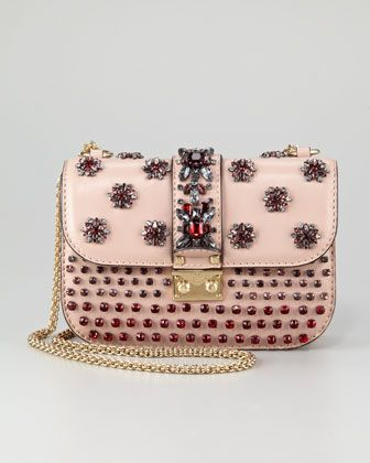 Glam-Lock Flap Bag by Valentino at Neiman Marcus.