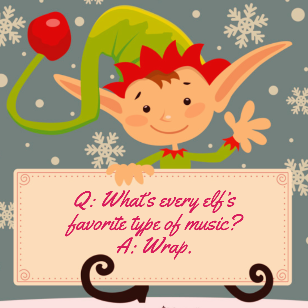 An elfin Christmas riddle. Christmas memes funny