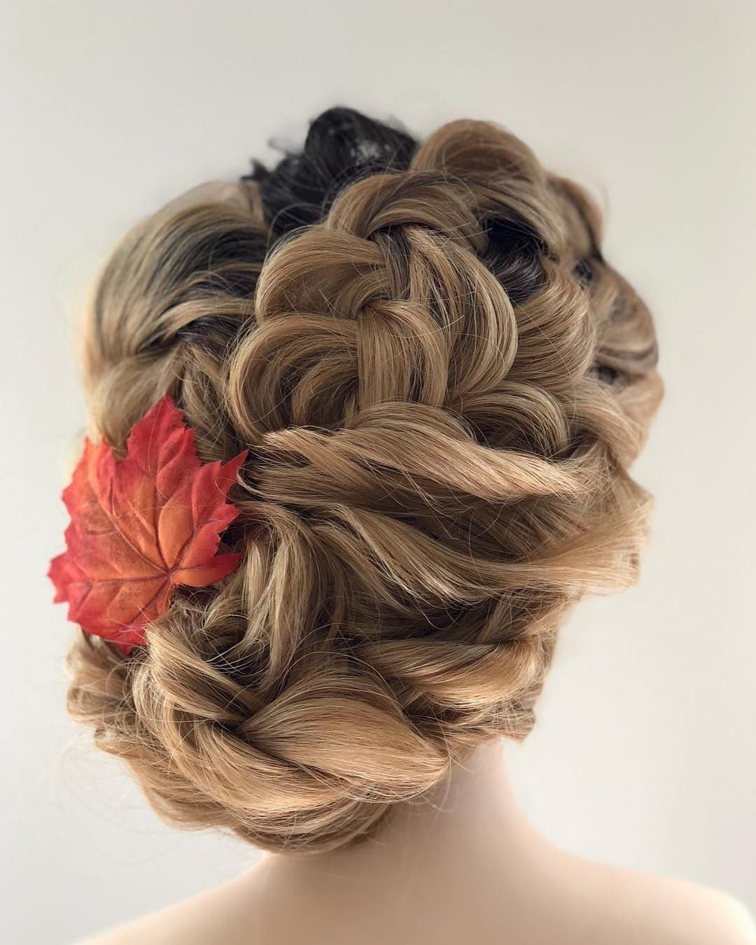 Wedding Hairstyle Nashville: Fall-spiration 🍁 #AutumnDreams #PivotPoint #LearnForward