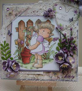 Crafting All Days Cards Blog, magnolia