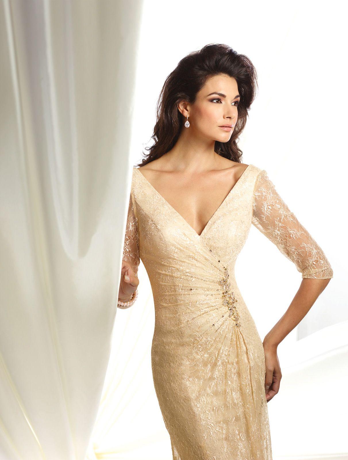 Vestido De Festa - 116932 | Dressy dresses, Dresses, A line gown