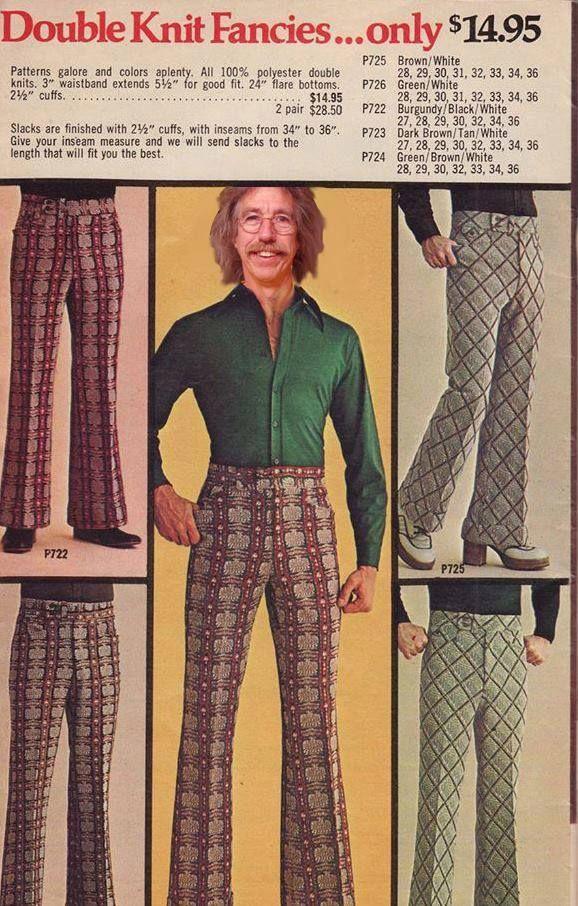 Fancies He Has Double Knit Fancies Nostoligia Mode 70er Mode