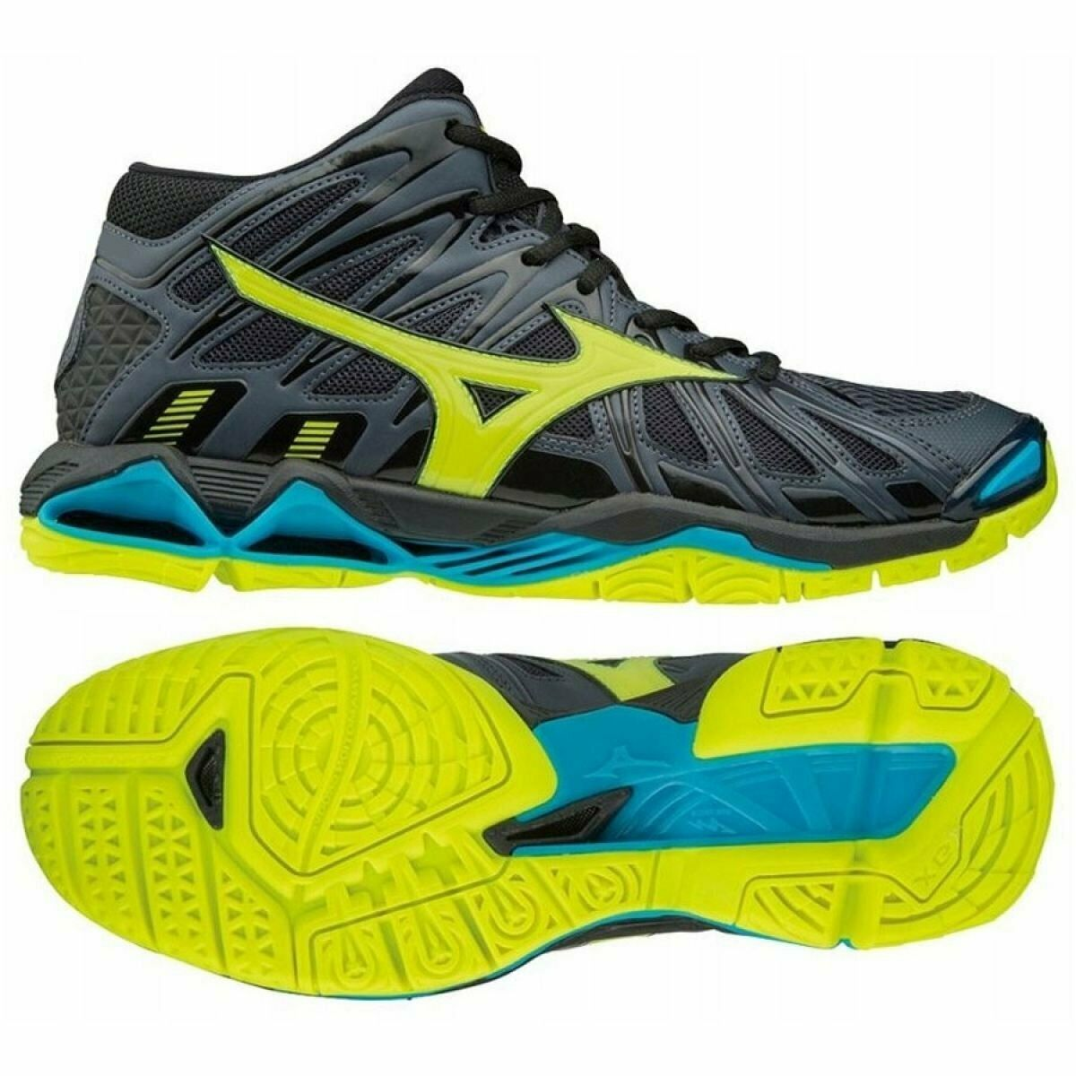 Volleyball Shoes Mizuno Wave Tornado X2 Mid M V1ga181747 Of Graphite Grey In 2020 Volleyball Shoes Mens Volleyball Shoes Mizuno Shoes