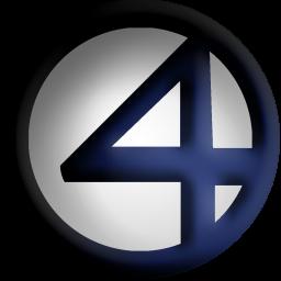 Fantastic 4 Dock Icon By Meganubis On Deviantart Symbols Science Fiction Fantastic Four Logo